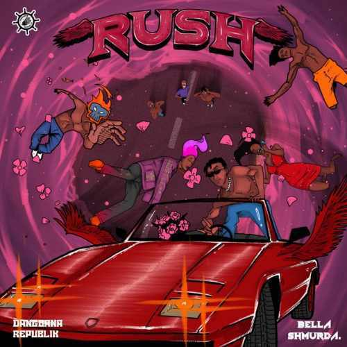 Bella Shmurda - Rush - Song Art