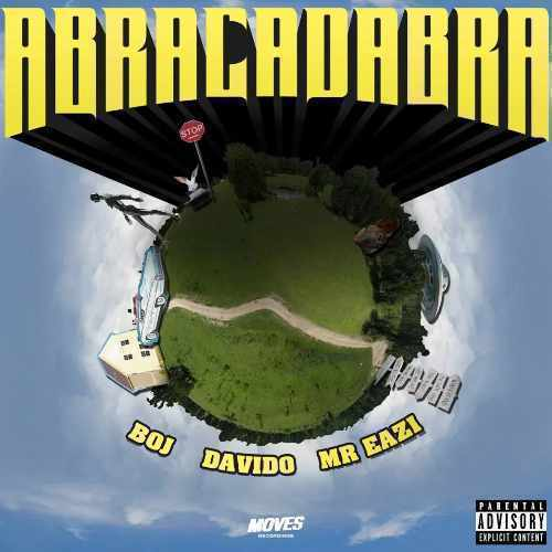 Mr Eazi - Abracadabra - Song Art