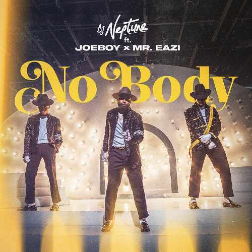 Joeboy - Nobody - Song Art