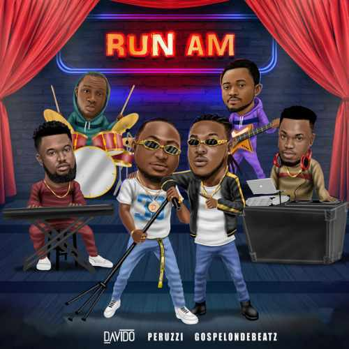 GospelOnDeBeatz - Run Am - Song Art
