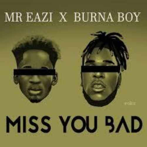 Mr Eazi - Miss You Bad - Song Art