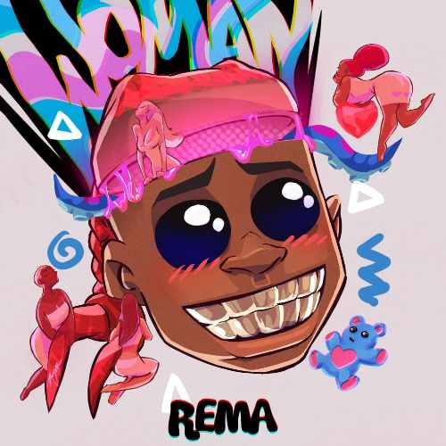 Rema - Woman - Song Art