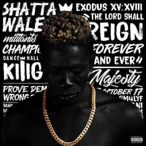 Shatta Wale - Dont Baby My Baby - Song Art