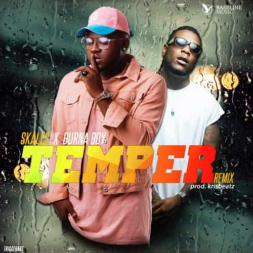 Skales - Temper Remix - Song Art