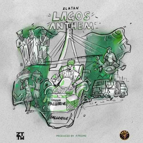 Zlatan - Lagos Anthem - Cover Art